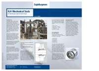 Solution: Mechanical seals HJ4 for high pressure crude oil pipeline pumps